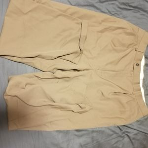 Men's Beige Dress Pants